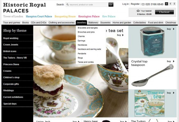 Historic Royal Palaces launches new online gift shop