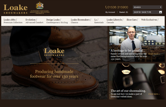 Loake launches new e-commerce website to push online sales of its classic English shoes