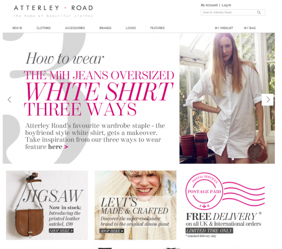 Atterley Road launches online fashion brand designed & developed by Screen Pages