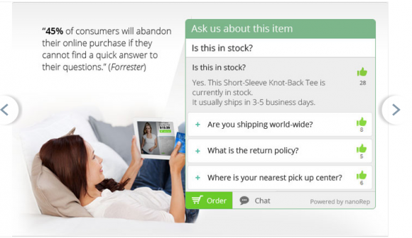 Nanorep for Magento: automated customer self-service & FAQs