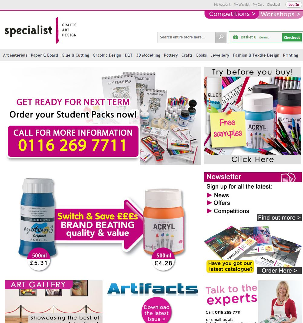 Specialist Crafts Appoints Screen Pages To Manage Support Its
