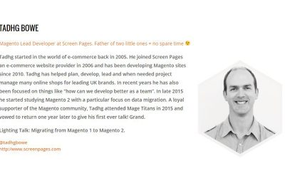 Screen Pages to discuss migration to Magento 2 at Mage Titans
