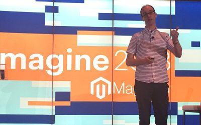 Tadhg Bowe speaks at Imagine 2018 – Las Vegas