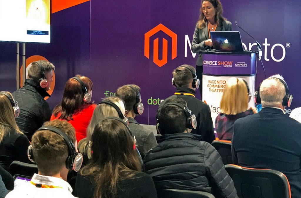 Our CEO, Sarah Willcocks, was delighted to present at the eCommerce North Show last week