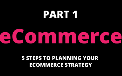 5 Steps to Planning Your eCommerce Strategy (Part 1)