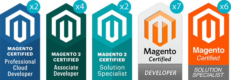 Screen Pages Magento certifications