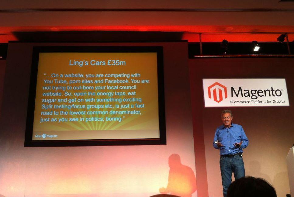 Meet Magento UK - Roger Willcocks